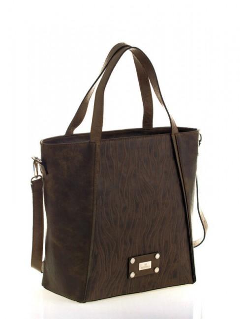Γυναικεία τσάντα ώμου Myrto Καφέ 54002129